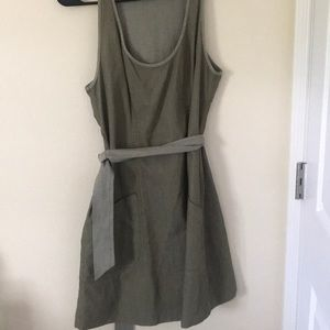 Green Fossil dress with pockets